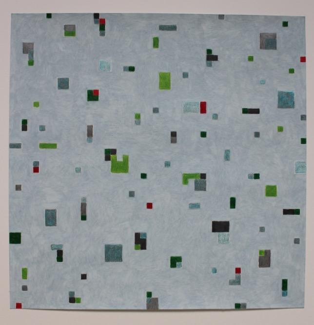 Milly Betten, Transitie 4, 50 x 50 cm, 2015